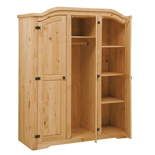 Corona Pine Triple Wardrobe Cp Furniture Sales