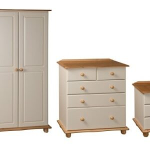Coventry Bedroom Range in Cream & light Antique Pine.‏