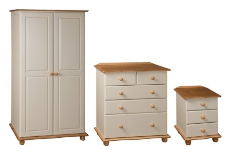 Coventry 3 Drawer Bedside Locker Cp Furniture Sales