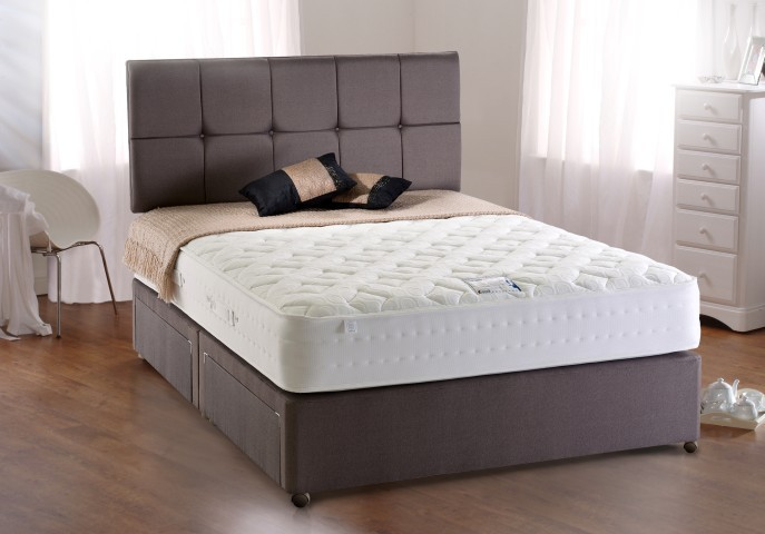 Respa pocket 1200 double mattress 4 39 6 cp furniture sales for Divan base no mattress