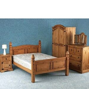 Corona Mexican Pine Bedroom Furniture Range